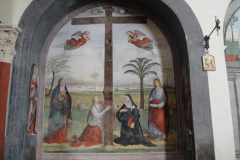 Altar of the Holy Cross with Mary, Mary Magdalen, Clare of Montefalco, St. John