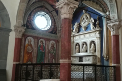 The tomb of St. Bartolo.