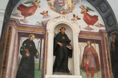Altar of St. Nicholas of Tolentine.