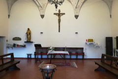 The friars chapel for daily Mass and prayer.