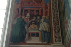 Augustine is baptized by Ambrose.